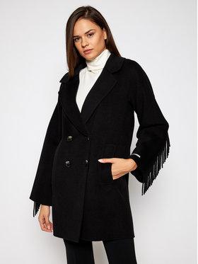 Marella Marella Płaszcz przejściowy Colour 30860106 Czarny Regular Fit