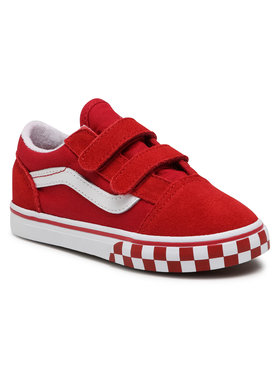Vans Vans Teniszcipő Old Skool V VN0A38JN32W1 Piros