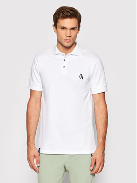 Rage Age Rage Age Tricou polo Dinkley 1 Alb Regular Fit