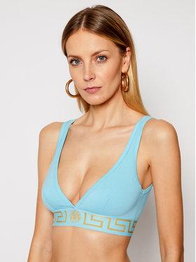 Versace Versace Biustonosz braletka Donna AUD01047 Niebieski