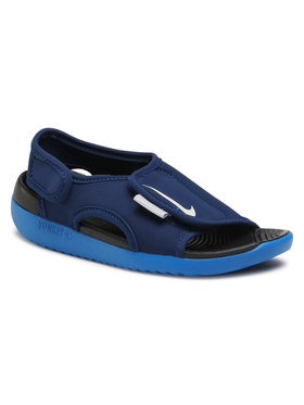 Nike Nike Sandali Sunray Adjust 5 V2 (Gs/Ps) DB9562 401 Blu scuro