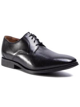 Clarks Clarks Pantofi Gilman Lace 261276548 Negru