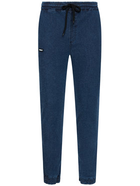 Diamante Wear Diamante Wear Joggers kalhoty Unisex Marmur 5499 Modrá Regular Fit