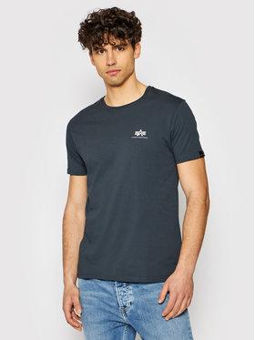 Alpha Industries Alpha Industries T-shirt Basic Small Logo 188505 Gris Regular Fit