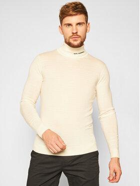 KARL LAGERFELD KARL LAGERFELD Bluză cu gât Knit 655040 502306 Bej Regular Fit