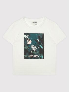 Kenzo Kids Kenzo Kids T-Shirt K15167 Biały Regular Fit