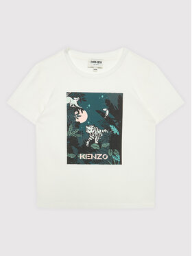 Kenzo Kids Kenzo Kids Тишърт K15167 Бял Regular Fit