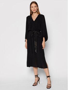 Marella Marella Každodenné šaty Caffe 32260118 Čierna Regular Fit