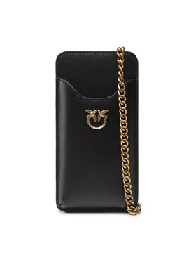 Pinko Pinko Borsetta I Phone Case Simply C AI 21-22 PLTT 1P22ES Y6XT Nero