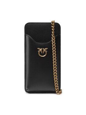 Pinko Pinko Дамска чанта I Phone Case Simply C AI 21-22 PLTT 1P22ES Y6XT Черен
