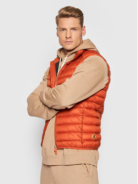 Save The Duck Save The Duck Gilet D82410M GIGA13 Arancione Regular Fit
