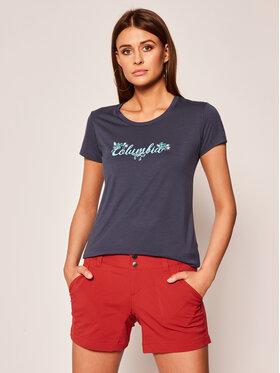 Columbia Columbia T-shirt Shady Grove EL1485 Blu scuro Regular Fit