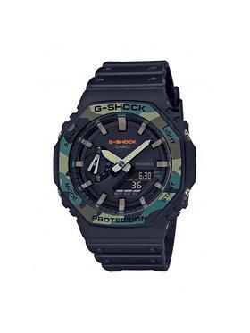 G-Shock G-Shock Hodinky GA-2100SU-1AER Čierna