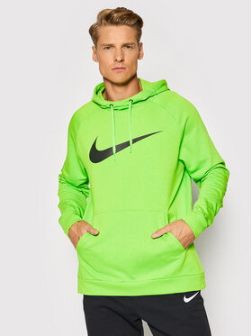 Nike Nike Суитшърт Dri-Fit Swoosh CZ2425 Зелен Standard Fit