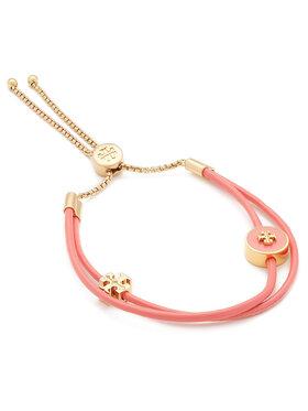Tory Burch Tory Burch Karkötő Kira Enamel Slider Bracelet 61683 Rózsaszín