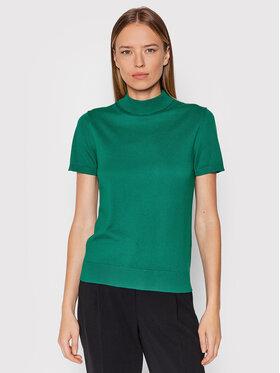 United Colors Of Benetton United Colors Of Benetton Bluză cu gât 102MD2543 Verde Regular Fit