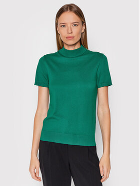 United Colors Of Benetton United Colors Of Benetton Golf 102MD2543 Zielony Regular Fit
