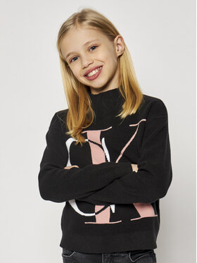 Calvin Klein Jeans Calvin Klein Jeans Pullover Oco Exploded Monogram IG0IG00678 Schwarz Regular Fit