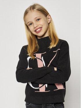 Calvin Klein Jeans Calvin Klein Jeans Пуловер Oco Exploded Monogram IG0IG00678 Черен Regular Fit
