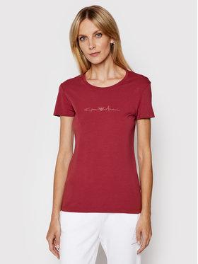 Emporio Armani Underwear Emporio Armani Underwear T-Shirt 163139 1P223 05573 Bordowy Regular Fit