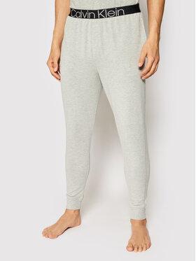 Calvin Klein Underwear Calvin Klein Underwear Pyžamové nohavice 000NM2092E Sivá Regular Fit