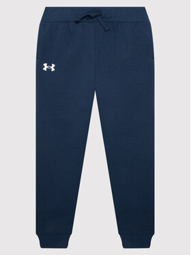 Under Armour Under Armour Παντελόνι φόρμας Ua Rival 1357634 Σκούρο μπλε Loose Fit