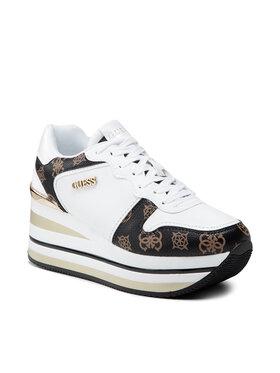 Guess Guess Sneakersy Hektore FL7HEE FAB12 Biały