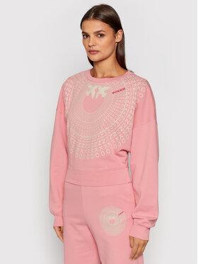 Pinko Pinko Bluză Ada 1G16W2 Y7JQ Roz Cropped Fit
