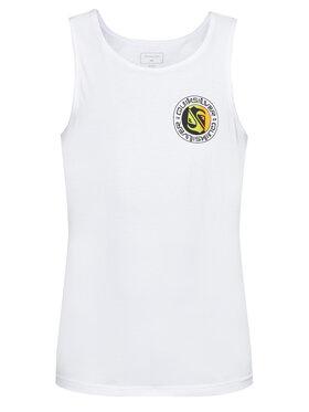 Quiksilver Quiksilver Tank top marškinėliai Mellow Phonic EQYZT06335 Balta Regular Fit