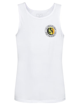 Quiksilver Quiksilver Tank top Mellow Phonic EQYZT06335 Biały Regular Fit