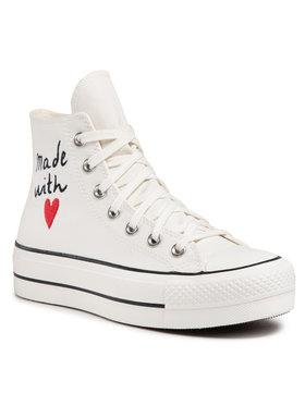 Converse Converse Sneakers aus Stoff Ctas Lift II 571119C Weiß