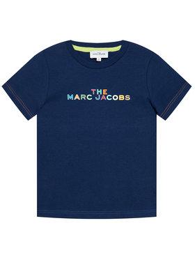 Little Marc Jacobs Little Marc Jacobs T-shirt W25467 S Bleu marine Regular Fit