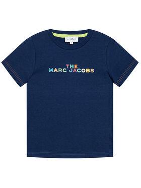 Little Marc Jacobs Little Marc Jacobs T-shirt W25467 S Tamnoplava Regular Fit