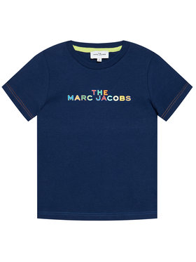 Little Marc Jacobs Little Marc Jacobs Тишърт W25467 S Тъмносин Regular Fit