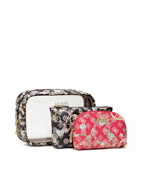 Guess Guess Σετ τσαντάκια καλλυντικών Milene Accessories PWMILE P1350 Μαύρο