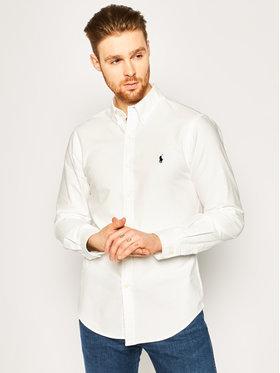 Lauren Ralph Lauren Lauren Ralph Lauren Koszula Classics 710736557 Biały Slim Fit