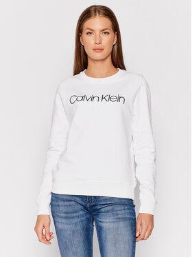 Calvin Klein Calvin Klein Felpa Core Logo K20K202157 Bianco Regular Fit