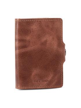 Secrid Secrid Malá pánska peňaženka Miniwallet M Hnedá