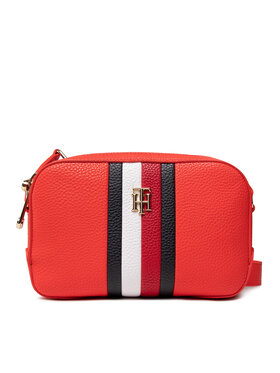 Tommy Hilfiger Tommy Hilfiger Handtasche Th Essence Camera Bag Corp AW0AW10229 Rot
