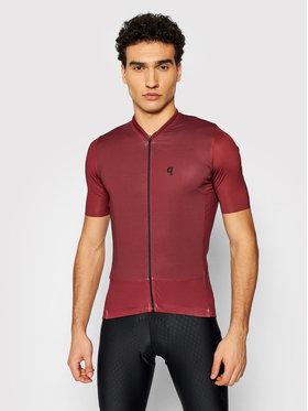 Quest Quest Maglietta da ciclismo Adventure Bordeaux Slim Fit