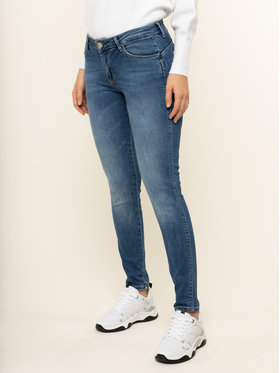 Guess Guess Jeansy Skinny Fit Ultra Curve W01A37 D38R8 Niebieski Shaping Fit