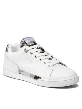 Pepe Jeans Pepe Jeans Sneakersy Lambert Camu PLS31246 Bílá