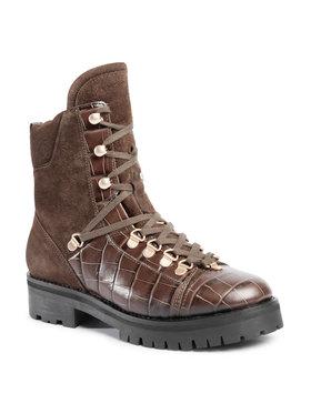AllSaints AllSaints Ορειβατικά παπούτσια Franka Croco B4ZW0242 Πράσινο