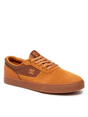 DC DC Sneakers aus Stoff Switch ADYS300431 Braun