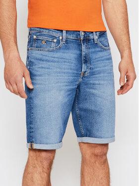 Calvin Klein Jeans Calvin Klein Jeans Szorty jeansowe J30J317748 Niebieski Regular Fit