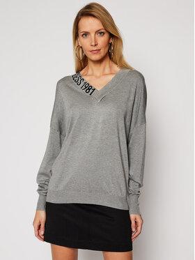 Guess Guess Пуловер Dalia W1RR04 Z2NQ0 Сив Regular Fit