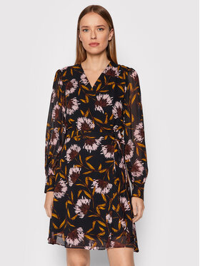 Marella Marella Kleid für den Alltag Cleo 32261616 Schwarz Regular Fit