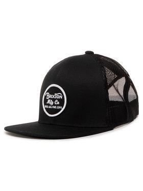 Brixton Brixton Καπέλο Jockey Wheeler Mesh Cap 00014 Μαύρο