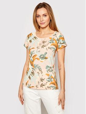 Columbia Columbia T-Shirt High Dune 1885964 Pomarańczowy Regular Fit
