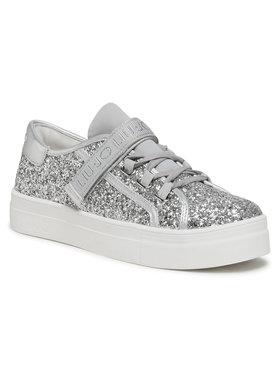 Liu Jo Liu Jo Sneakersy Alicia 26 4A1701 TX007 D Srebrny